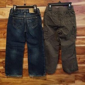 Boy's 4T pants, 2 pair
